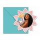Birthday invitation Vaiana Treasure Ocean - 1 pc