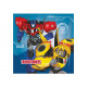 Napkins birthday Transformers - 33 cm - 20 pcs.