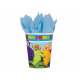 Birthday cups Teletubbies - 266 ml - 8 items