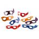 Masks Mutant Ninja Turtles - 8 pcs.