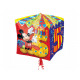Foil balloon Cube Mickey Mouse Cube for 5th birthd