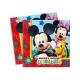 Birthday napkins Mickey Mickey - 33 cm - 20 pcs