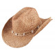 Strohoed Drover hickory maat M