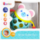 bam bam rubber ball with rattle bear 0 /