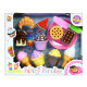kitchen set 31x25x6 cakes 583a blister
