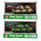 czołg dźwięk/światło pull back 21x11x9 window box