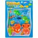 gioco di pesci magnetico blister 28x39