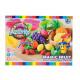 plastic mass + accessories 24x18x6 box fruit