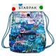 Umhängetasche Starpak Graffiti kleine Tasche