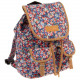 backpack starpak flowers pouch