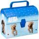 Box Karton 200x145x80 Animal Planet mit Griff p