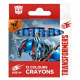 crayons de cire 12 couleurs stk10 Transformers n p