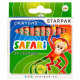 wax crayons 24kol starpak safari pud