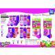 SHOPKINS - pack 3 socks 70% cotton 18% poly