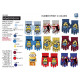 Minions - multi composition gloves