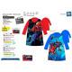 Spiderman - vestaglia in corallo 100% poliestere