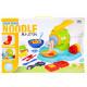 plastic massa pasta + accessoires 39x26x8 maanden