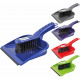 Sweeping set with rubber lip, assorted colors,