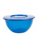 Bowl with lid, 5 liters, blue