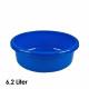 Kom, 6,2 liter, d = 30,5 cm, hoogte = 12cm, Blauw