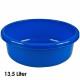 Kom, 13,5 liter, d = 40 cm, hoogte 14 cm, Blauw