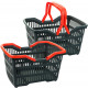 Basket / shopping m.. klappb. Henkel 23x39, 5x28cm