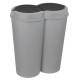 Bakken, afval DUO AM, ongeveer 2x 25 liter,
