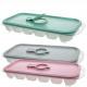 Ice trays m. Cover, 18er 3,8x25,5x11,3cm,