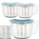 Measuring cup / shaker, d = 18 cm, H = 20 cm, abou