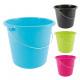 Buckets, household bucket 5 L, metal bracket, for