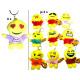 Smiley Keychain Emoticon met het lichaam