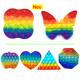 Pop it push Spiel Rainbow