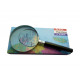 Hand magnifier 75mm with 3 magnifications
