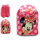 BACKPACK WITH FLAP AND HANDLES Minnie
