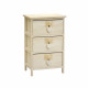 3 x drawers wide drawers gray gray 40 x 29 x 58