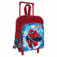 Backpack with wheels / trolley 30 cms. Spiderman