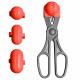 La Croquetera - Color rojo - utensilio multiuso co