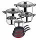 San Ignacio - 8 piece cookware and game set