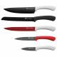 Set of 5 knives - multicolor Black / Red / Blanc