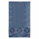 asciugamano 30x50 cm blu versace 19v69 abbigliamen