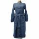 blue bathrobe size l-xl man versace 19v69 abbi