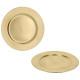 Assiette décorative, or, environ 33 cm de diamètre