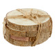 Onderzetter houten schijf, set van 4, ca. 12 cm do