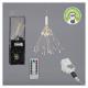 LED ster vuurwerk, transformator / afstandsbedieni