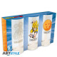 DRAGON BALL - 3 glasses set x2