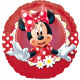 9 'őrült a Minnie fólia ballon laza 23 cm