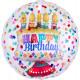 Insider 'Happy Birthday' Folienballon, verpackt, 6