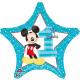 Standard 'Micky - 1st Birthday' Foil Ballo