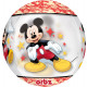 Orbz 'Mickey Mouse' Foil Balloon Clear, Pa
