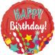 Standard ' Happy Birthday - Festive' foil